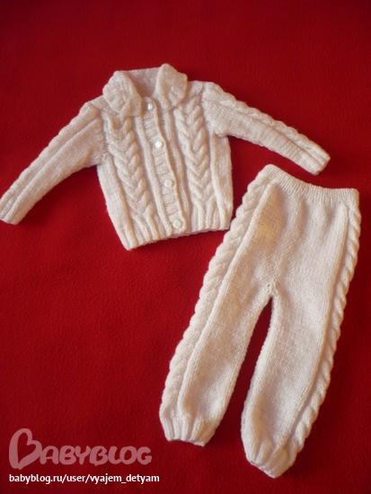26 сен 2013 Вязание штанишек,