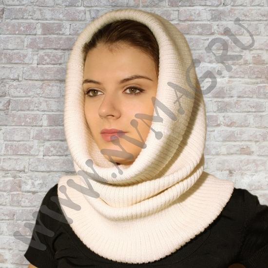 4 фев 2014 шарф труба спицами
