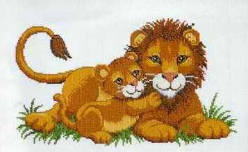 Дата изменения: 21.01.2011, 02:07. или посмотрите ТУТ.  Девочки ищу для будущего совместного проекта схемки львов...