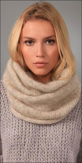 Про снуд или шарф-воротник.