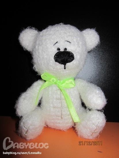 Мастер классы: Вязаный Медведь Схема Вязания ФОТО #1.