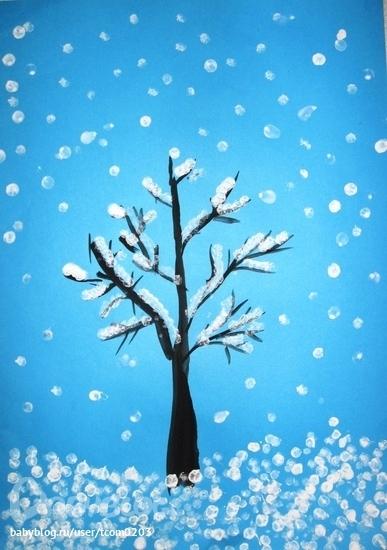 Поделки на тему зима своими руками - Поделки, делаем самостоятельно