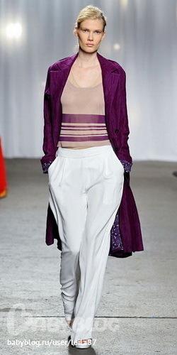 Красивые пальто и плащи весна 2012 - фото модных пальто для весны 2012