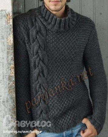свой цитатник или сообщество! http://club.osinka.ru/topic-58216?&start=135. мужской свитер.  Прочитать целикомВ.