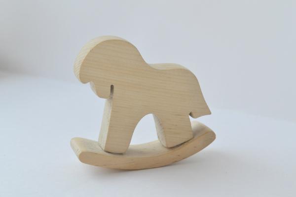 """Деревянная игрушка """"Лошадка качалка"""" - лошадка-качалка,аксессуары для кукол"""