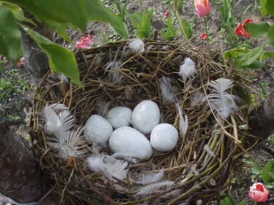 Поделки гнезда своими руками