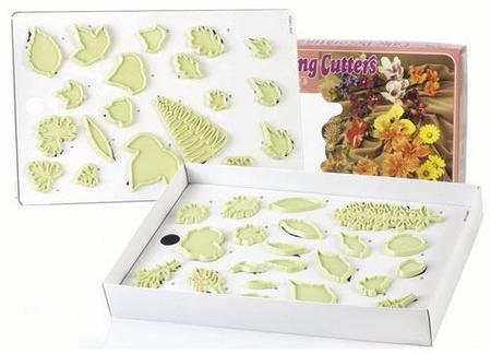 ...1, 2 & 5 - зубчатые листья Герани 3 & 6 - трёхлопастные листья 4 - лист Гибискуса 7 - зубчатый заострённый лист 8.