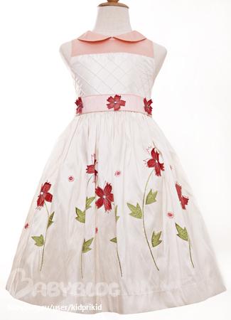 вечернее платье с прозрачной кокеткой
