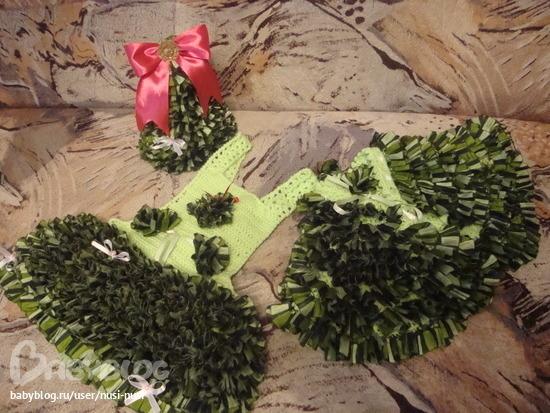 Костюм новогодней елочки своими руками
