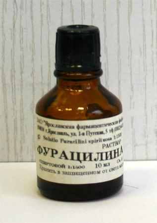 Как сделать раствор фурацилина из таблеток для полоскания горла