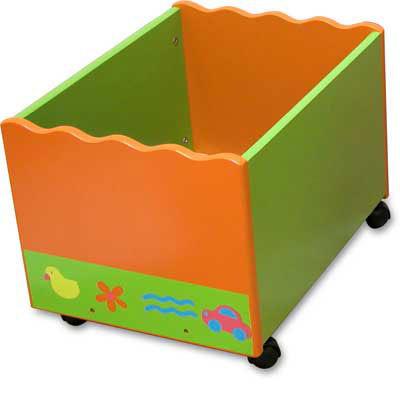 """Цена на  """"Ящик для игрушек, деревянный """" ."""