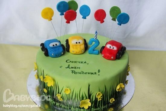 Фото тортики мальчику на 1 год