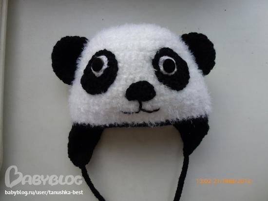 МК шапки панда.