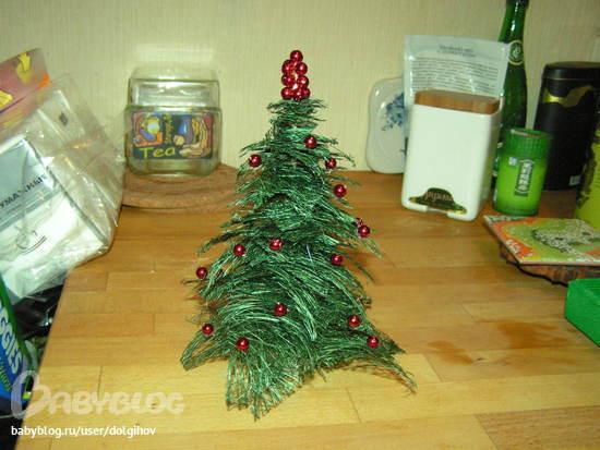 Новогодние елка своими руками для детского сада фото