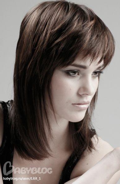 Прически для редких волос средней длины своими