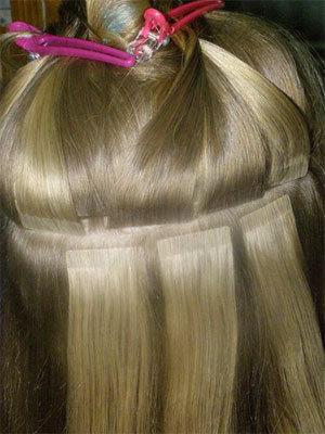 Фото на тему наращивание волос ленточным способом отзывы.