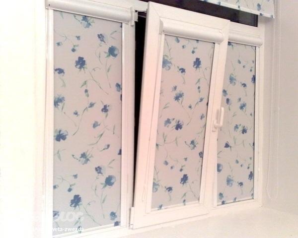 Рулонные жалюзи на окна фото