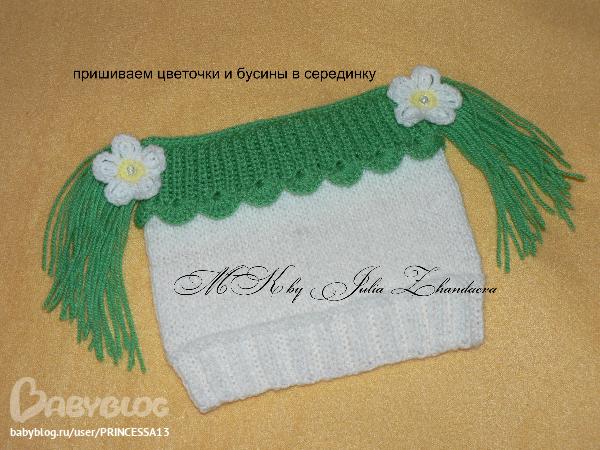 Схема вязания шапочки-клубнички спицами.  Источник http://www.babyblog.ru/community/post/r .  2# comments.