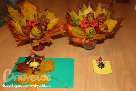 Подделки своими руками для сада на тему осень