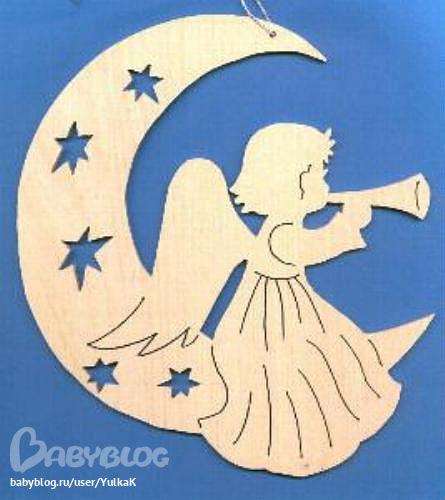 Ангелочки сделать своими руками шаблон