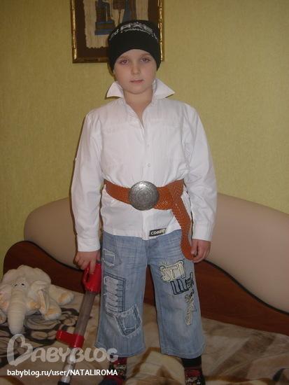 Костюм разбойника для мальчика своими руками на новый год фото