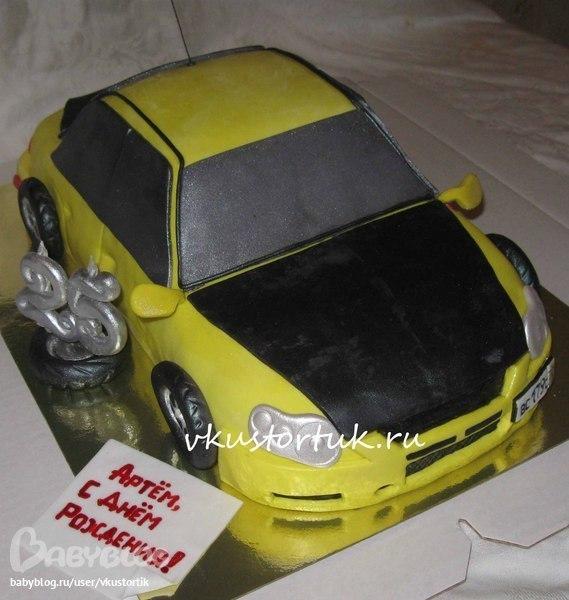 Торт машина грузовая фото